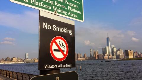 no smoking sign at wtc